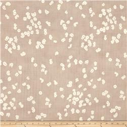 Kokka Muddy Works Double Gauze Flower Toss Sand