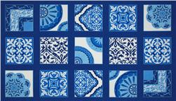 Moda Spa Panel Cobalt Blue