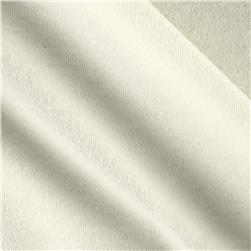 Cotton Interlock Knit Ivory