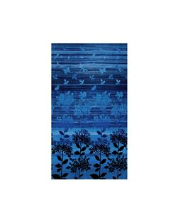 Nature Studies Border Print Indigo