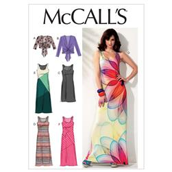 McCall's Misses' Unlined Jackets and Dresses Pattern M6559 Size A50