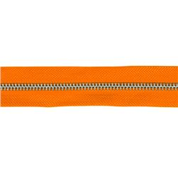 Riley Blake 1 1/4'' Zipper Trim Orange