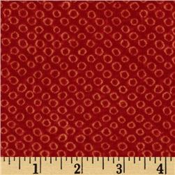 River Mist Shibori Red