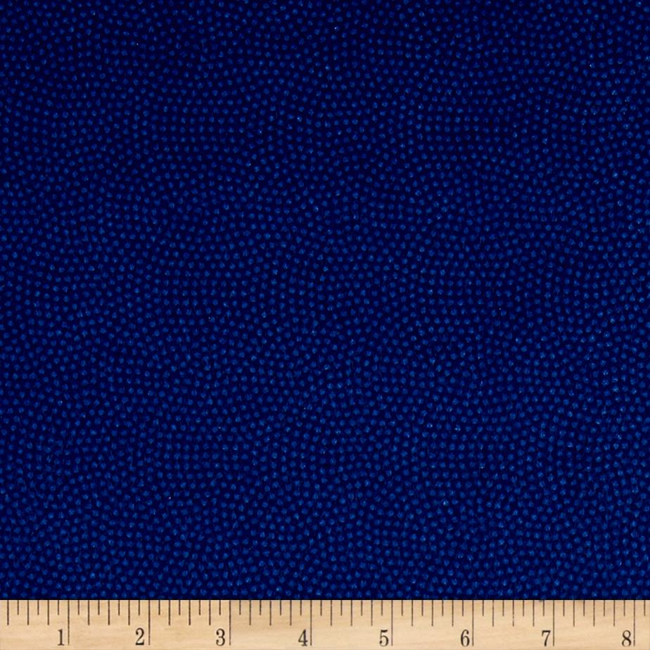 Timeless Treasures Flannel Spin Dot Pacific