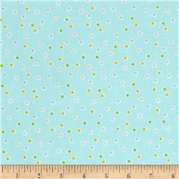 Riley Blake Sweet Orchard Dot Aqua