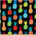 Kanvas Endless Summer Playful Pineapples Black
