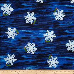 The Very Hungry Caterpillar Christmas Snowflake Blue