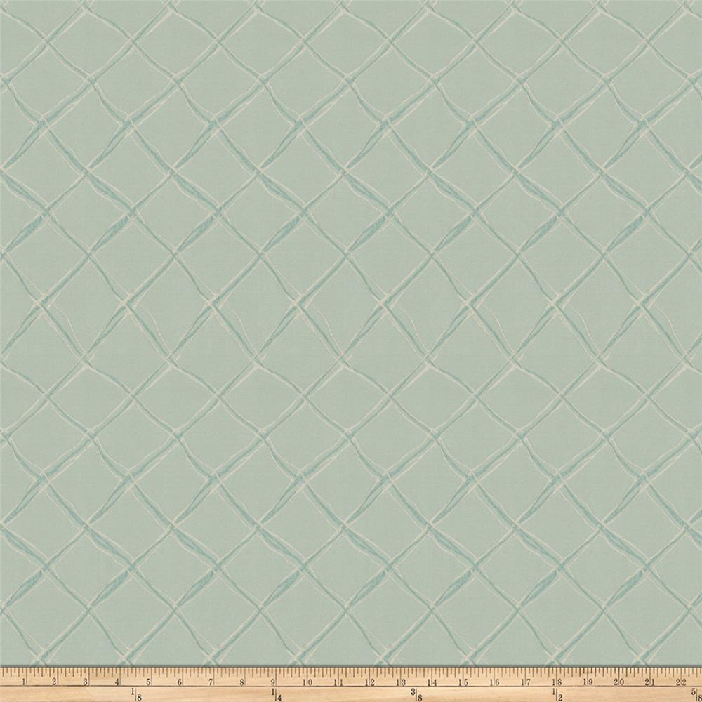 Fabricut Diamond Flare Faux Silk Pond
