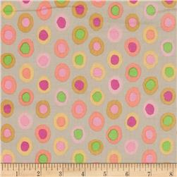 Kaffe Fassett Collective Rings Taupe Fabric