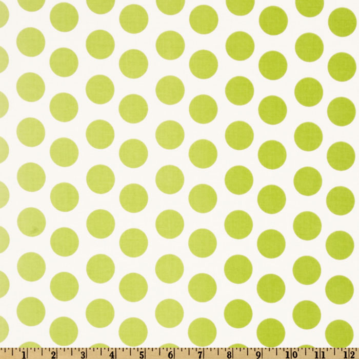 Riley Blake Ombre Dot Green Fabric