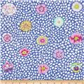 Kaffe Fassett Collective Guinea Flower Blue