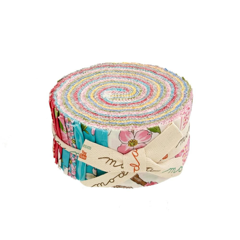 "Moda Dogwood Trail II 2.5"" Jelly Roll Multi"