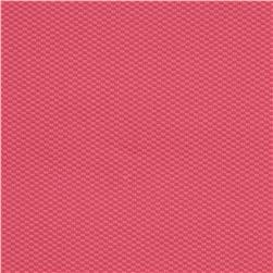 Kaufman Bisou Stretch Pique Hot Pink Fabric