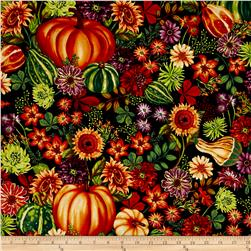 Autumn Abundance Great Pumpkin Black