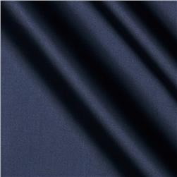 58'' China Silk Polyester Lining Navy Fabric