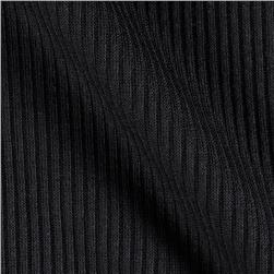 Ribbed Sweater Knit Black