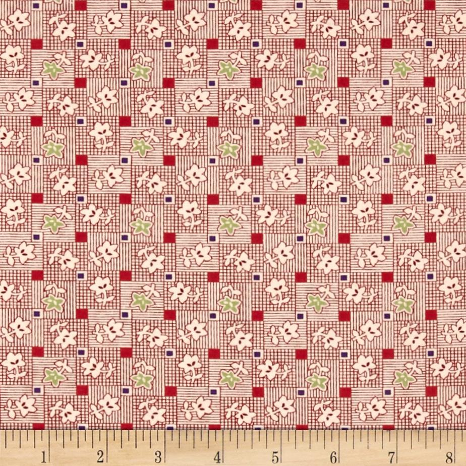 Pinafores & Petticoats Patchwork Posies Red
