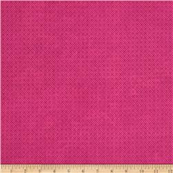 "Essential Criss Cross 60"" Flannel Magenta"