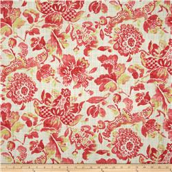HGTV HOME Soft Focus Floral Slub Blushing