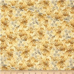 Le Jardin Packed Floral Yellow/Grey