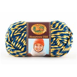 Lion Brand Hometown USA Yarn 610 Wolverines