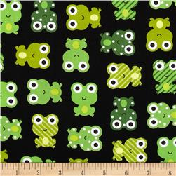 Urban Zoologie Frogs Black