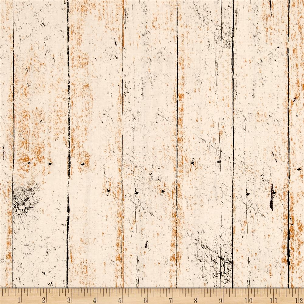 Jeepers Creepers Tonal Wood Plank Cream