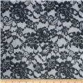 Minky Midnight Lace Black