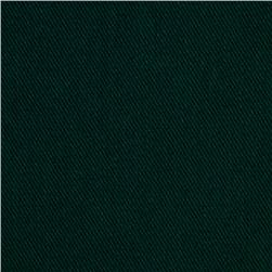 Cotton Nylon Twill Forest Green