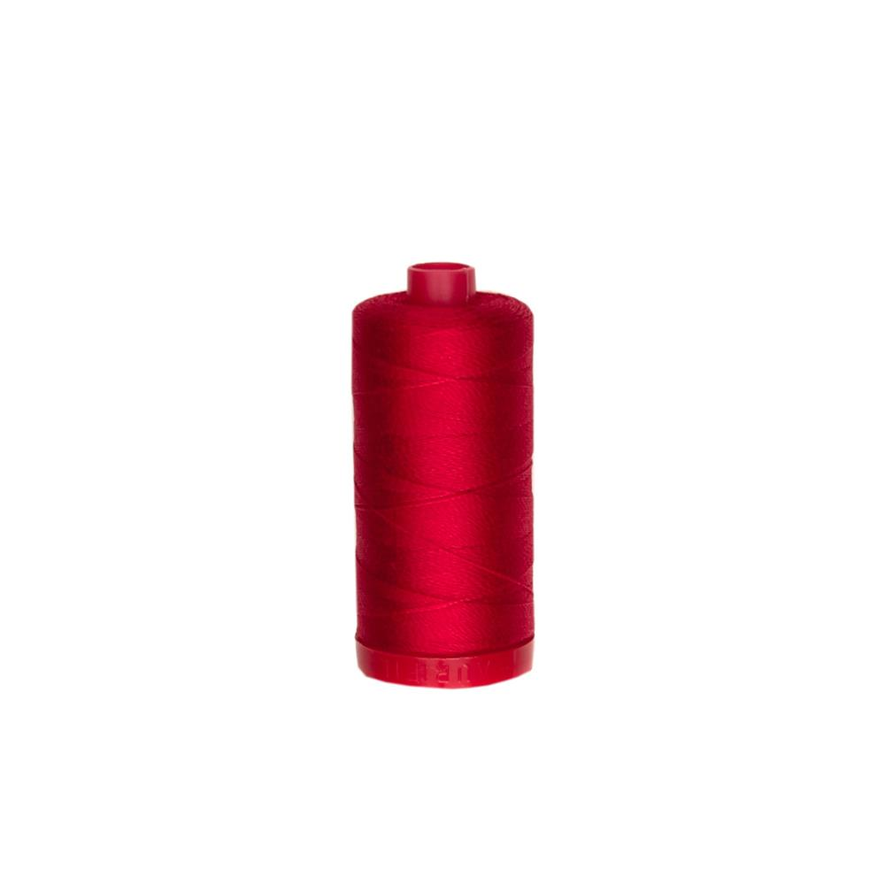 Aurifil 12wt Embellishment and Sashiko Dreams Thread Red