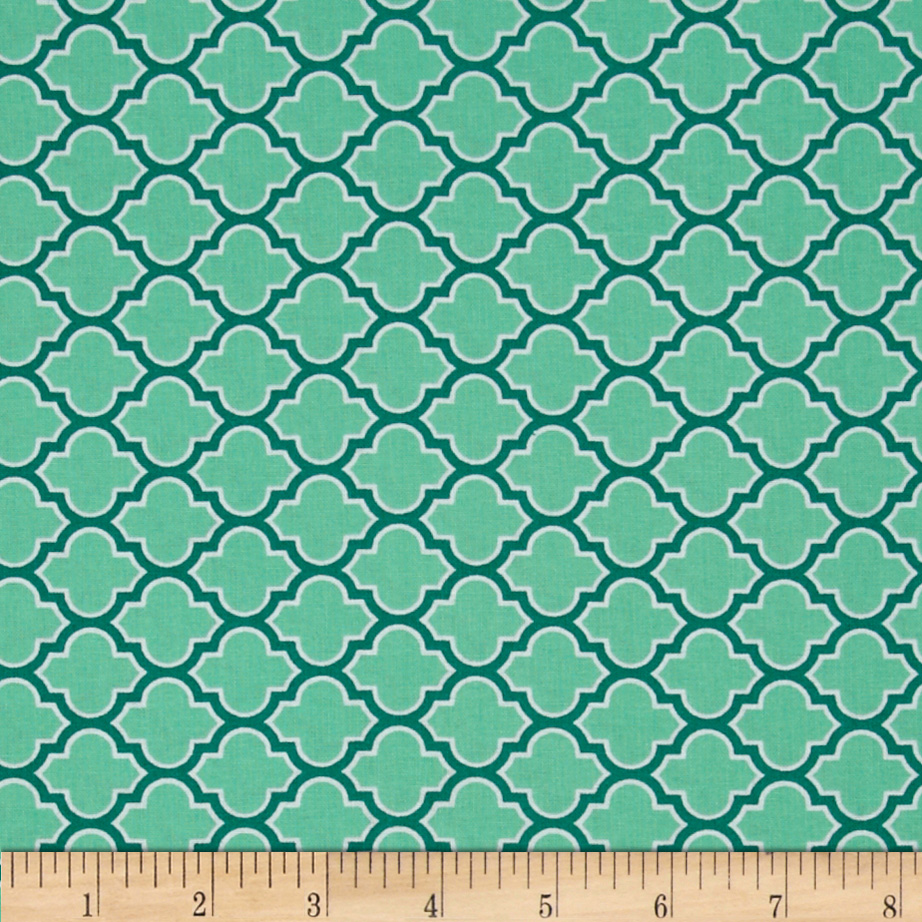 Joel Dewberry True Colors Lodge Lattice Turquoise