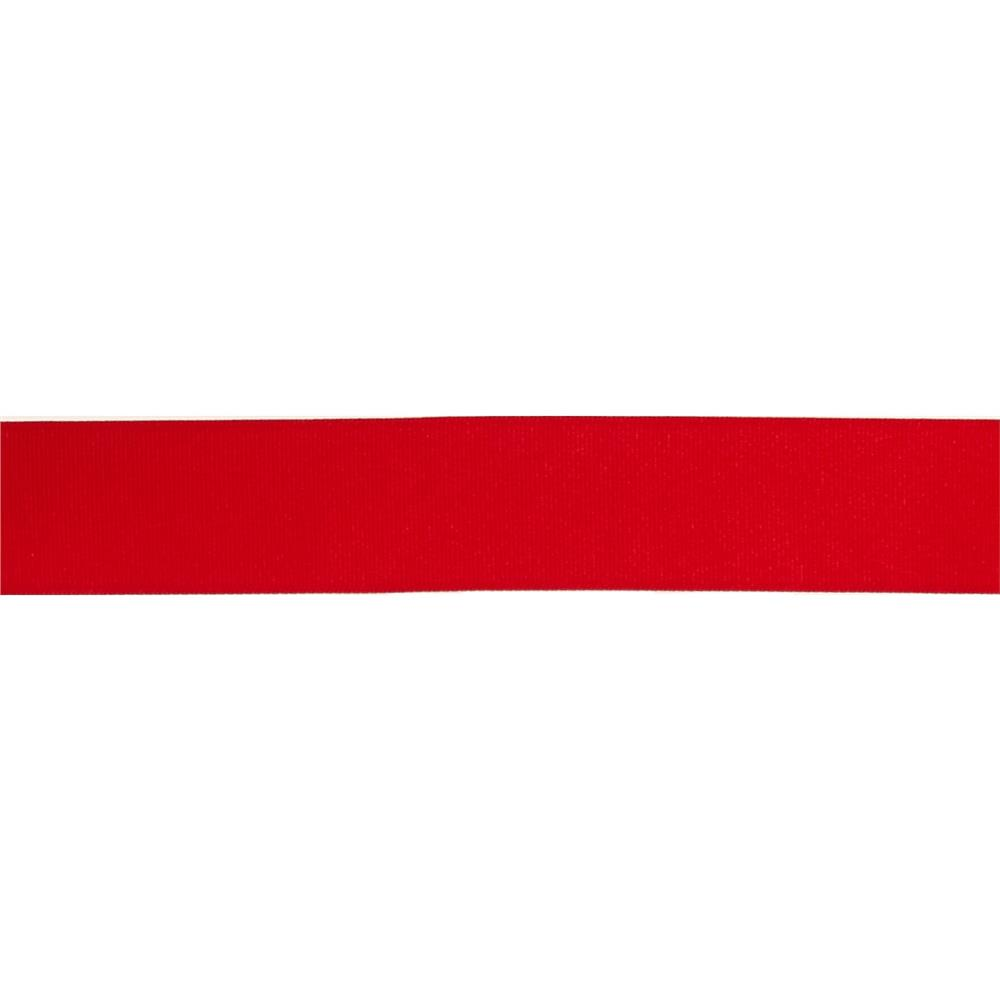 "1 1/2"" Grosgrain Solid Ribbon Red"