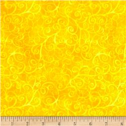 Timeless Treasures Flannel Breeze Yellow