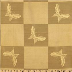 Regal Jacquard Butterfly Golden Fawn