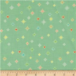 Riley Blake Cozy Christmas Sparkle Mint