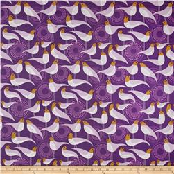 Joel Dewberry Modernist Voile Perch Violet