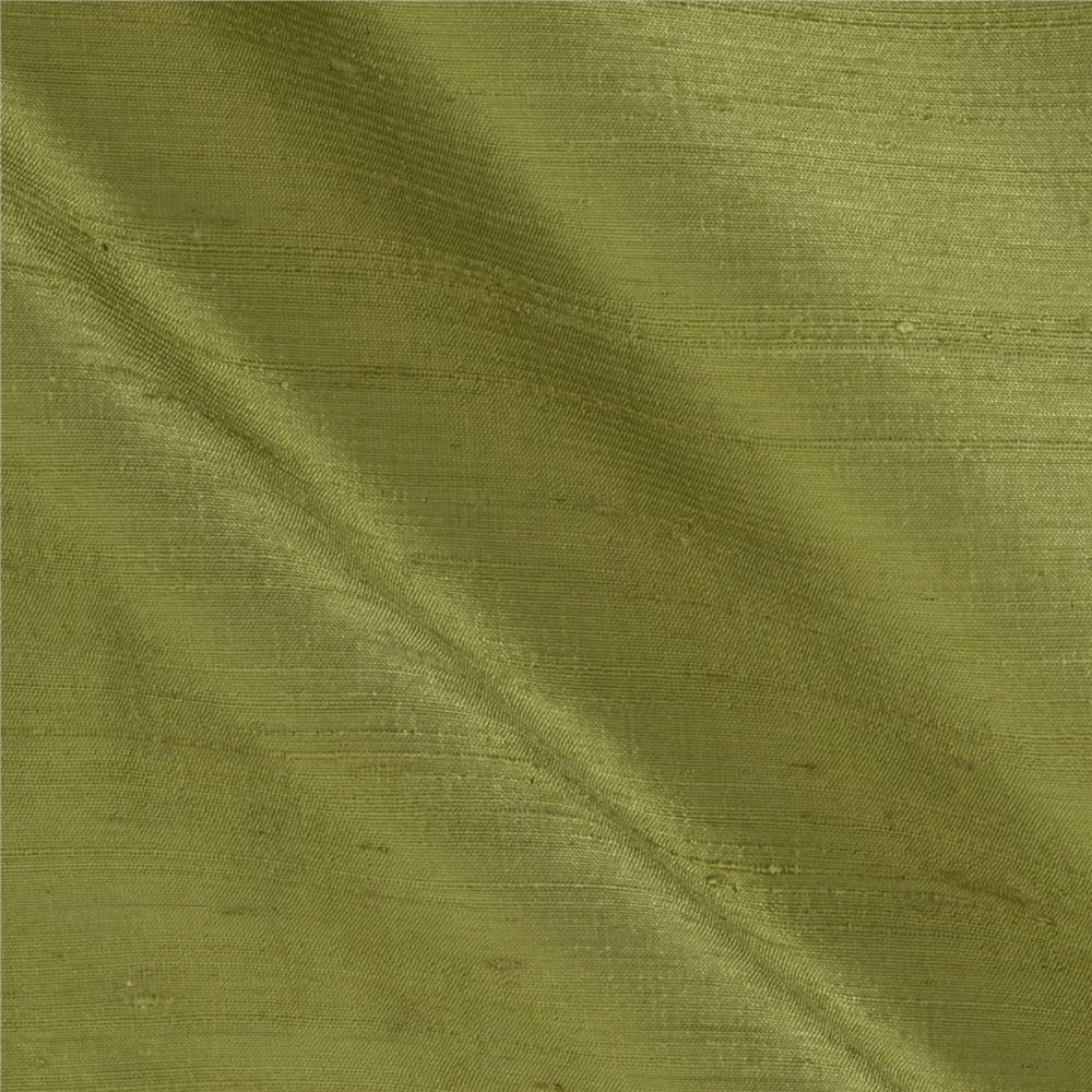 Dupioni Silk Fabric Sage