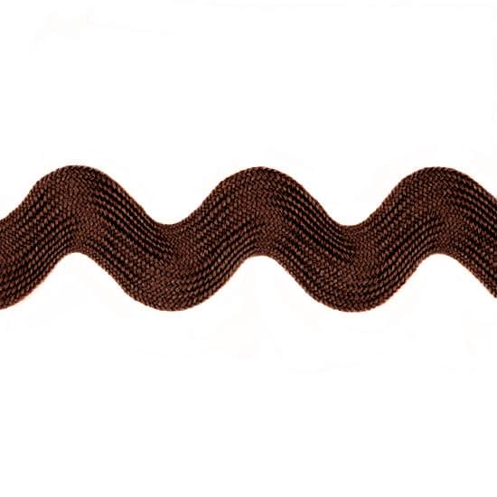 Ric Rac 1 3/8'' Polyester Brown