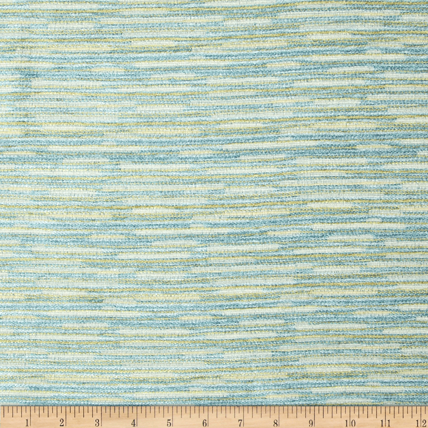 Tempo Double Color Chenille Chic Peacock Fabric by Tempro in USA