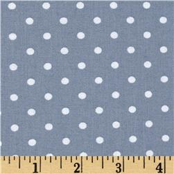Timeless Treasures Polka Dot Smoke