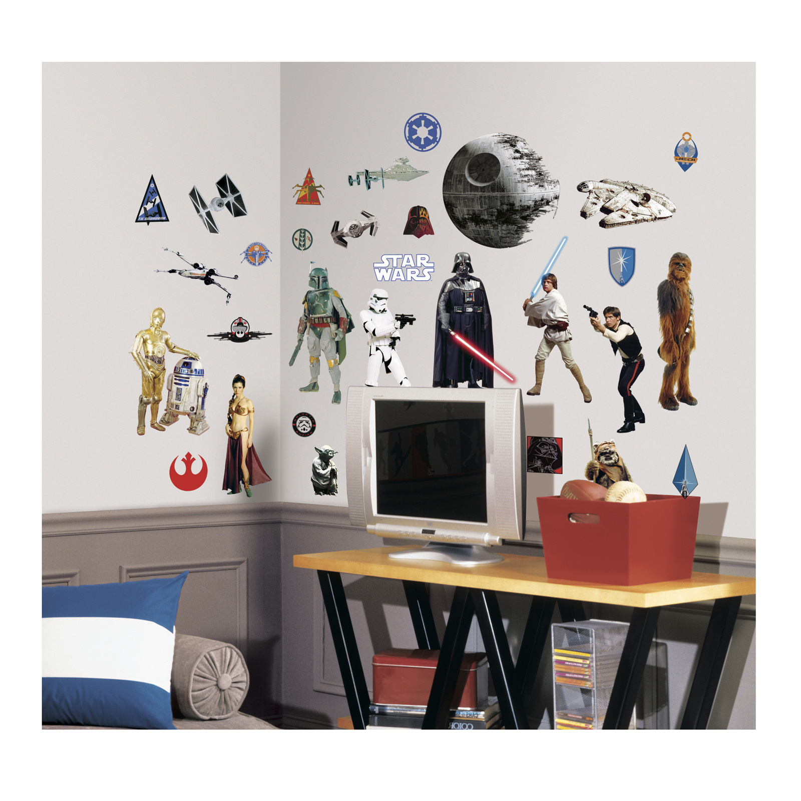 Star Wars Classic Wall Decals by Stardom Specialty in USA