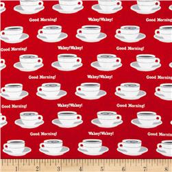 Rush Hour Coffee Cups Red