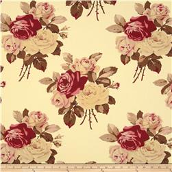 Tanya Whelan Home Décor Petal Large Antique Roses Ivory