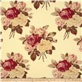 Tanya Whelan Petal Home Decor Sateen Large Antique Roses Ivory