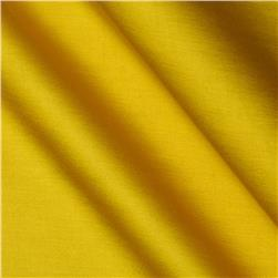 Cotton Blend Satin Canary Yellow