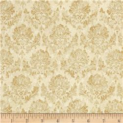 A Walk In The Park Ditsy Mini Floral Cream