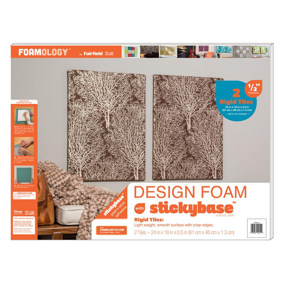 Foamology Two Piece Design Foam Tile, Rigid 24