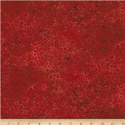 "Artisan Spirit Shimmer 108"" Wide Quilt Backing Red"
