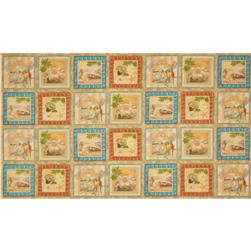Tropical Dreams Panel Tropical Patches Sand