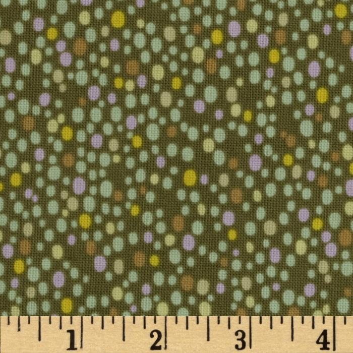 Savannah Dots Dark Green